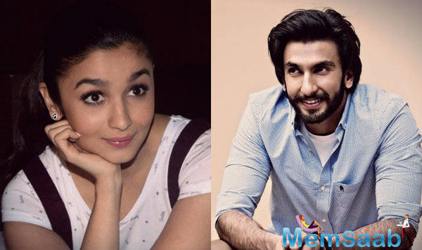 Alia Bhatt has a cute nick name given by Ranveer Singh