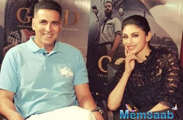 Akshay Kumar is not just a great co-actor but also a beautiful human being: Mouni Roy