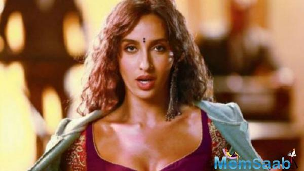 Nora Fatehi reveals first look from Stree track
