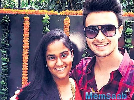 Salman Khan Films' is producing brother-in-law Aayush Sharma's debut film and the Khan family has all come along to support and promote the film.