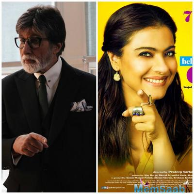 Amitabh Bachchan to work with Kajol again, this time for Helicopter Eela!