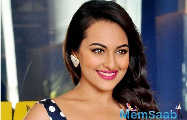 Sonakshi Sinha's Mantra for instant dose of happiness