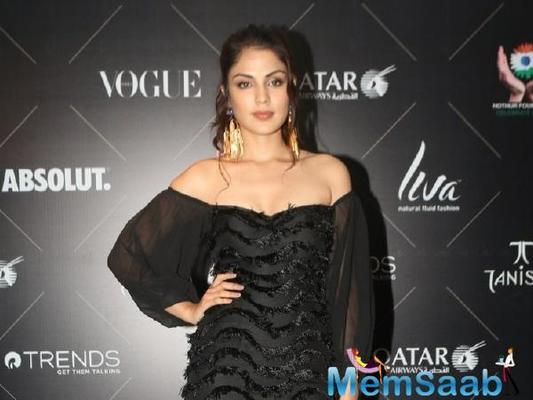 Rhea Chakraborty likes to focus on her future