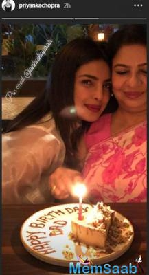 'Daddy's lil girl' Priyanka Chopra cuts birthday cake for him