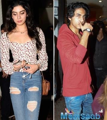 Khushi Kapoor to be launched opposite Aryan?