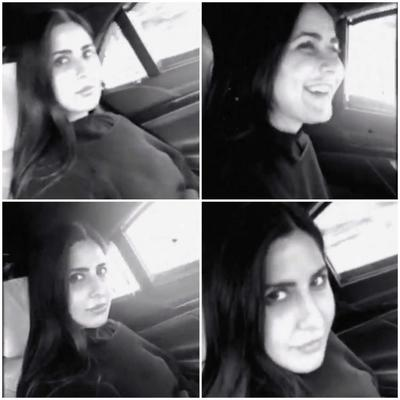 Katrina Kaif is on a road trip with friends in England