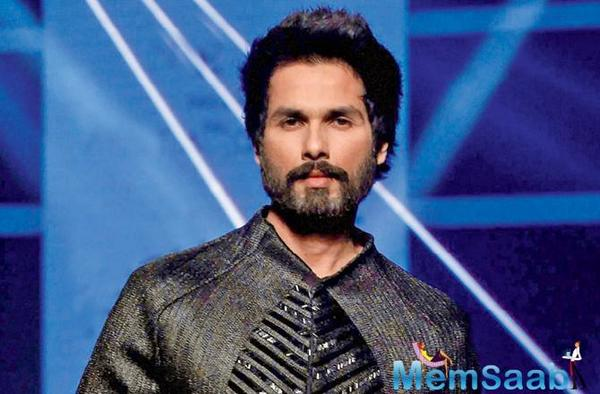 Shahid Kapoor on paternity leave: Taking only a week off from work