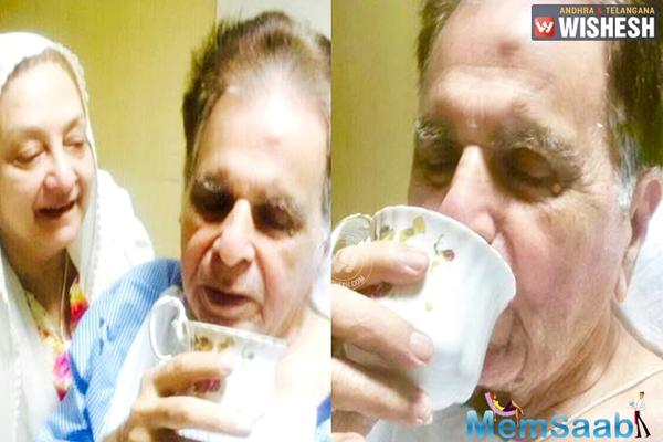 Dilip Kumar diagnosed with pneumonia, informs Saira Banu