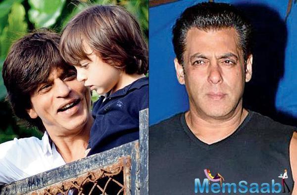 Salman Khan gifts an e-cycle for Shah Rukh Khan's son AbRam