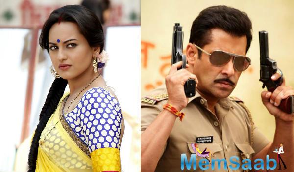 See you next year: Salman Khan, Sonakshi Sinha announce Dabangg 3