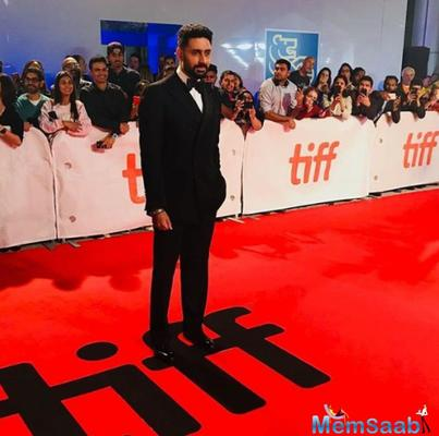 TIFF: Aishwarya warned me not to repeat my act here last time, reveals Abhishek