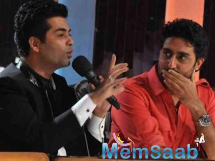 Karan Johar: Proud of Abhishek Bachchan's work