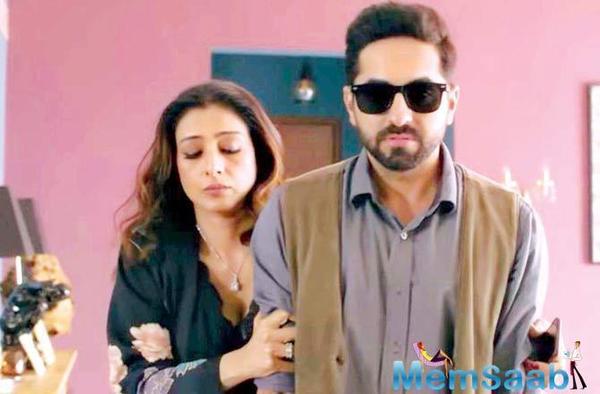 AndhaDhun co-stars Tabu, Ayushmann Khurrana don't see eye to eye