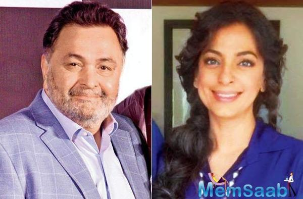 Rishi Kapoor and Juhi Chawla to team up again for family comedy