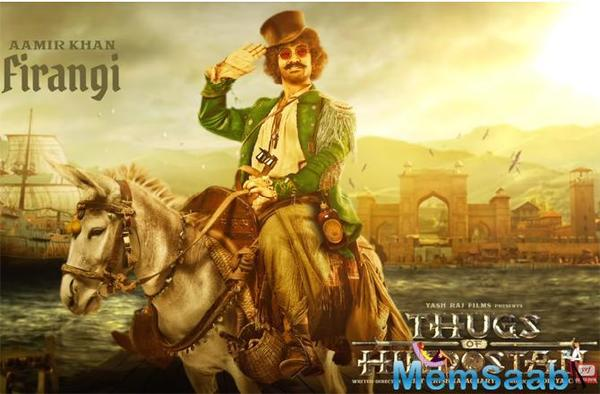 TOH: Aamir Khan in his quirkiest desi avatar as Firangi