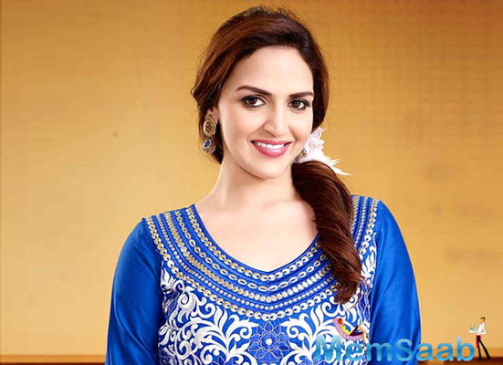 Esha Deol: After a gap, performers are apprehensive