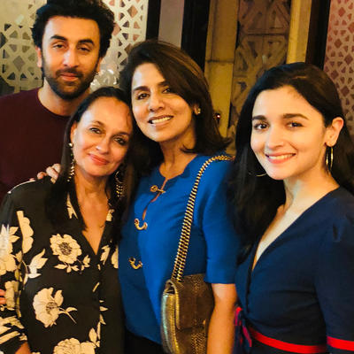 Ranbir birthday: Alia bakes cake, couple and moms together, wedding date discussion?