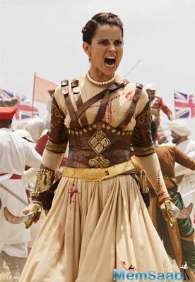 The first look of Kangana Ranaut as Manikarnika alias Rani Laxmibai is out