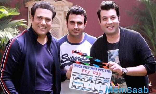 Govinda gushes over comedy actor Varun Sharma