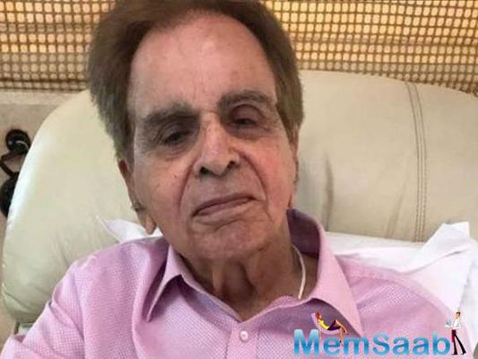 Veteran actor Dilip Kumar may be alive in medical terms, but well-informed sources say that he's all but gone.