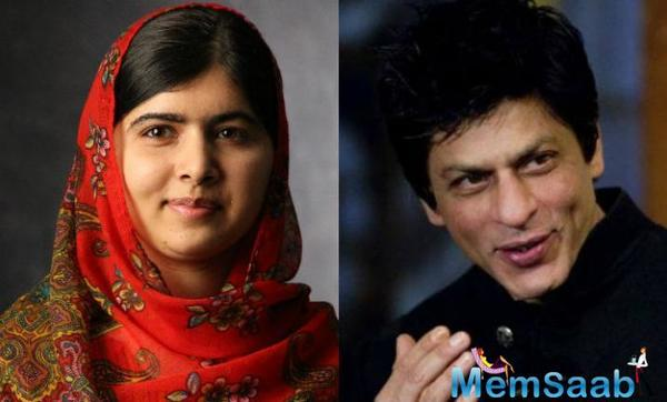 Shah Rukh Khan says meeting Malala Yousafzai will be a privilege