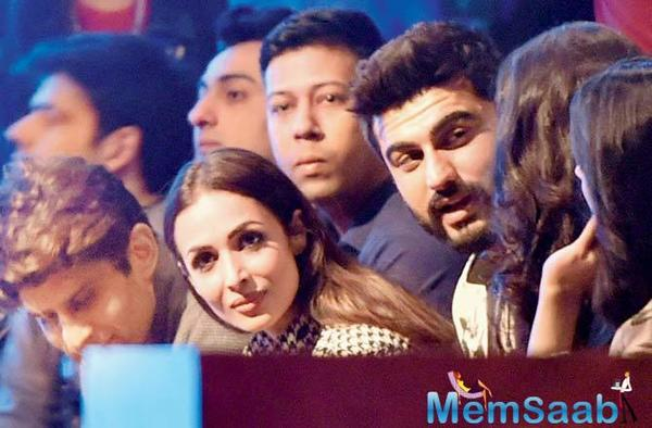 There were apparent rumours of Malaika's growing fondness towards Arjun Kapoor post separation from her 17-years of husband, Arbaaz Khan.