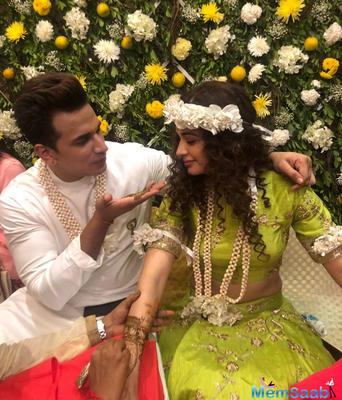 Inside pics: Prince Narula and Yuvika Chaudhary's Pre-Wedding