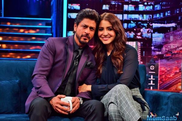 Anushka Sharma raves about her first hero SRK