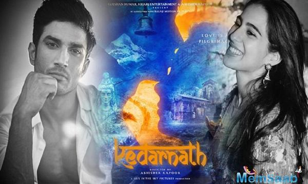 Kedarnath new poster: Sushant Singh Rajput, Sara Ali Khan showcase the power of love