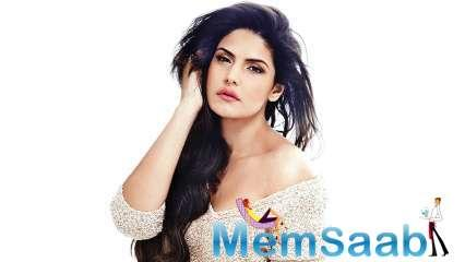 Zareen Khan often gets trolled on social media for her pictures. However, negative comments don't bother her and in fact, she, being a strong-willed person, never hesitates to speak her mind.