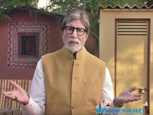Amitabh Bachchan wore a lawsuit in an ad, which lands him in trouble