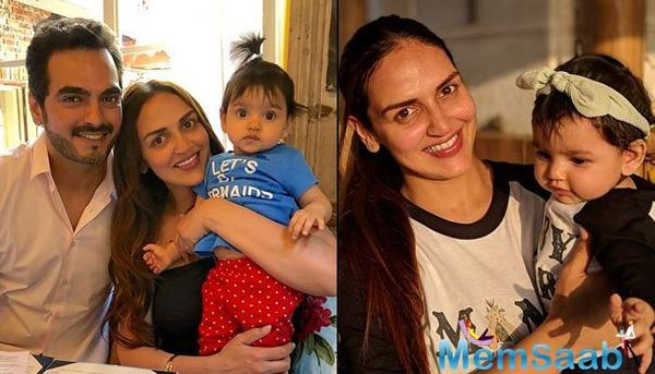 Esha Deol took to her Instagram account and shared the photo with the caption: