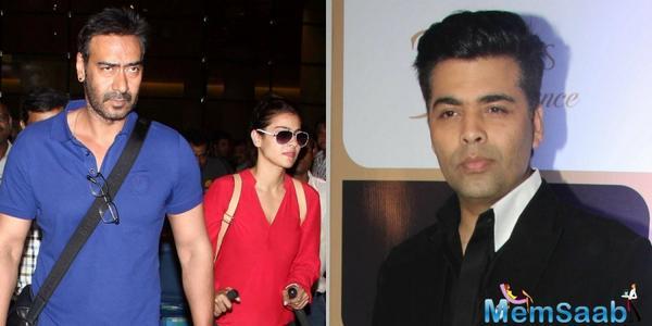 Kajol behind Ajay Devgn-Karan Johar patch up?