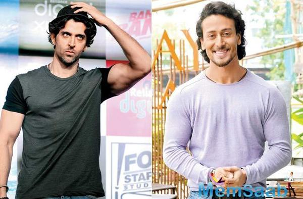 It's a wrap for Hrithik Roshan and Tiger Shroff's film