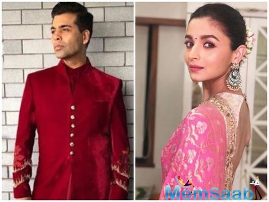 Working with Karan Johar 'Therapeutic' for Alia Bhatt