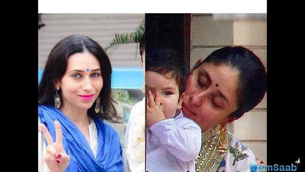 Kareena Kapoor, Taimur Ali Khan, Karisma Kapoor and kids' Royal Diwali photo