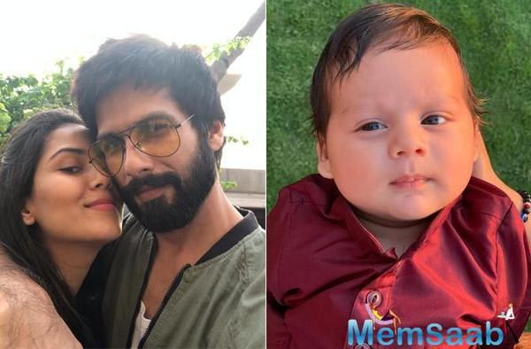 Mira Rajput and Sahid Kapoor's Son Zain Kapoor is simply adores!