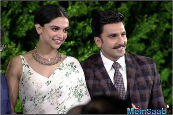 Ranveer Singh and Deepika Padukone are now husband and wife!