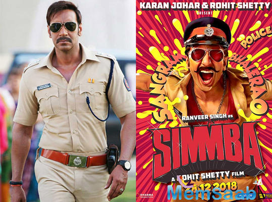 Simmba features Ranveer Singh as a volatile cop. The film also marks the acting debut of Saif Ali Khan and Amrita Singh's daughter, Sara Ali Khan.