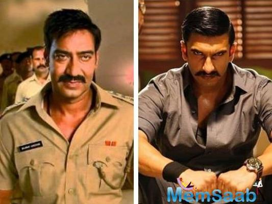 In Simmba, Rohit Shetty teams up with Ranveer Singh for the first time.