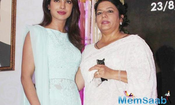 Priyanka's mom Madhu reaches Jodhpur but refuses to speak on Nickyanka wedding