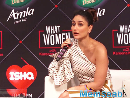 We have to keep conversation alive, says Kareena Kapoor Khan on #MeToo movement
