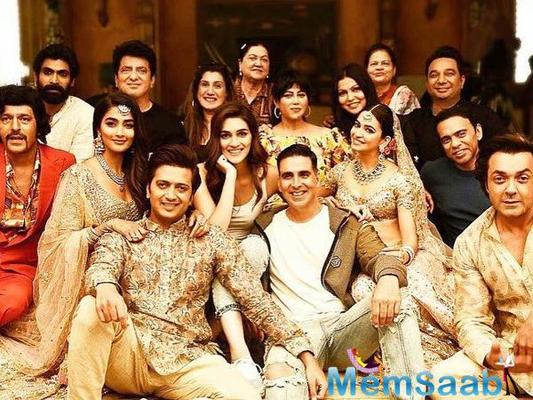 Riteish Deshmukh, who has just wrapped up shooting for Housefull 4, says every shoot in the upcoming comedy film has been fun, adding that it was four times funnier.