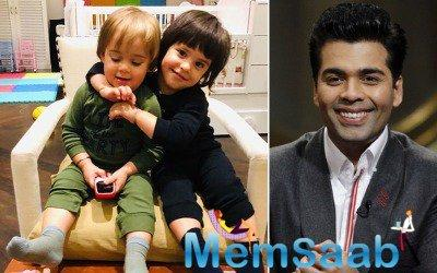Yash and Roohi Johar get a toy car from Sid uncle