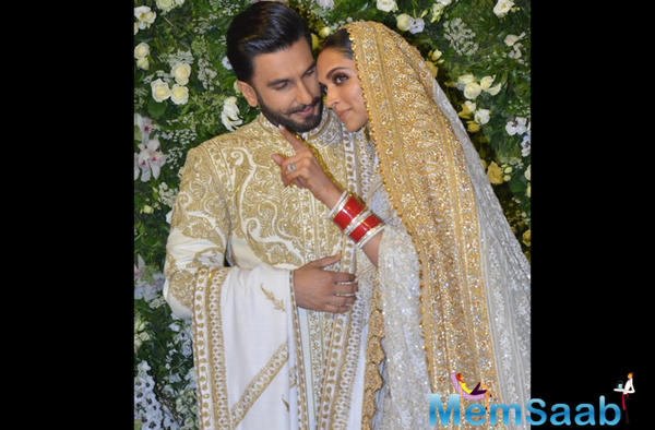 Deepika Padukone And Ranveer Singh's wedding reception pictures are out!