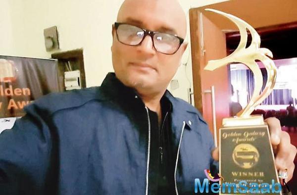 Rani Mukerji's brother Raja Ram Mukerji bags best film award