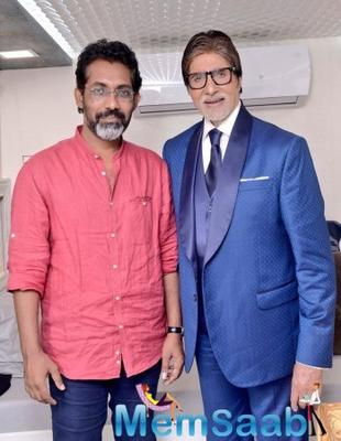 Amitabh Bachchan starts shooting for Nagraj Manjule's Jhund in Nagpur