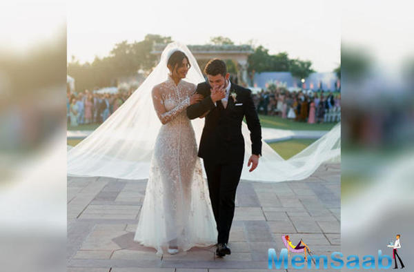 'This is us': Priyanka Chopra and Nick Jonas share new photos from their wedding