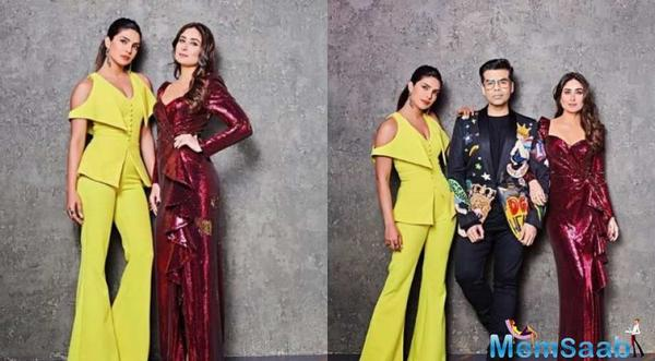 Koffee With Karan 6: Priyanka and Kareena to 'have fun' at the season finale
