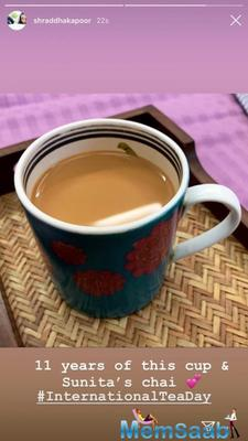 Shraddha Kapoor shares her love for tea and thanks special someone!